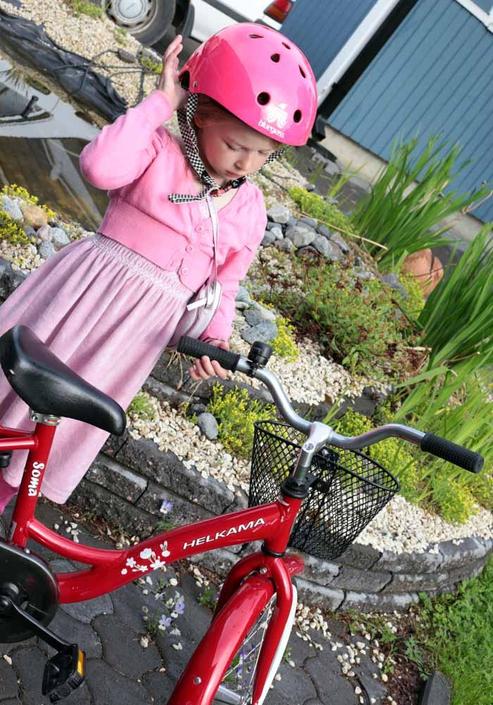 pieni polkupyöräilijä